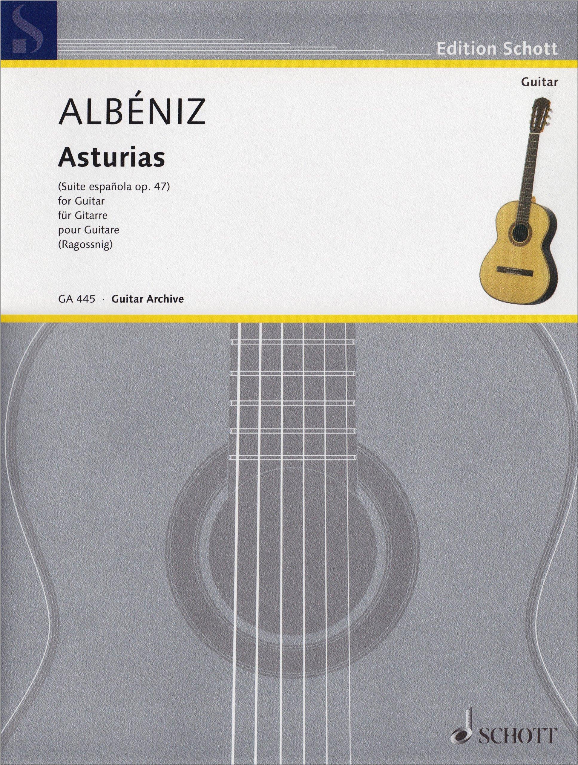 Asturias Guitare: Amazon.es: Isaac Albeniz: Libros