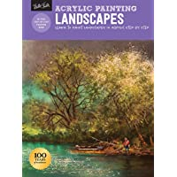 Acrylic Painting: Landscapes: Learn to paint landscapes in acrylic step by step