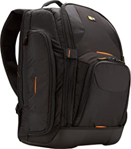 Case Logic SLRC-206 SLR Camera and 15.4-Inch Laptop Backpack (Black)