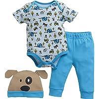 John Deere Baby Boys' Short Sleeve Set