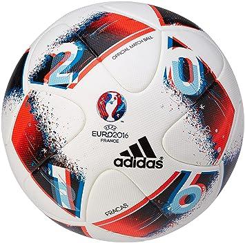 adidas Euro16 Omb Balón, Hombre, Multicolor (Blanco/Azubri/Rojsol ...