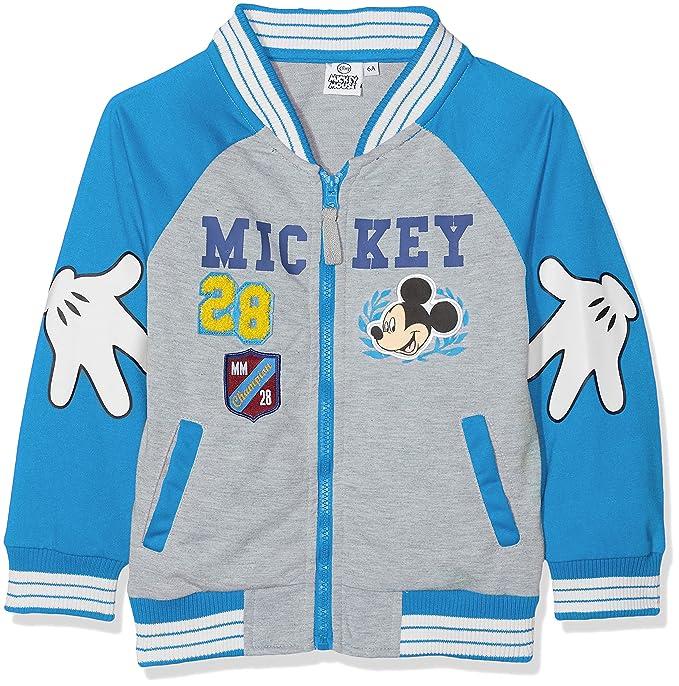 Disney Mickey Mouse, Sudadera para Niños, Azul (Blue 18-4247TC) 8