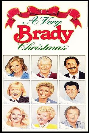 Brady Bunch Christmas Card.Amazon Com A Very Brady Christmas 1988 Dvd With Florence