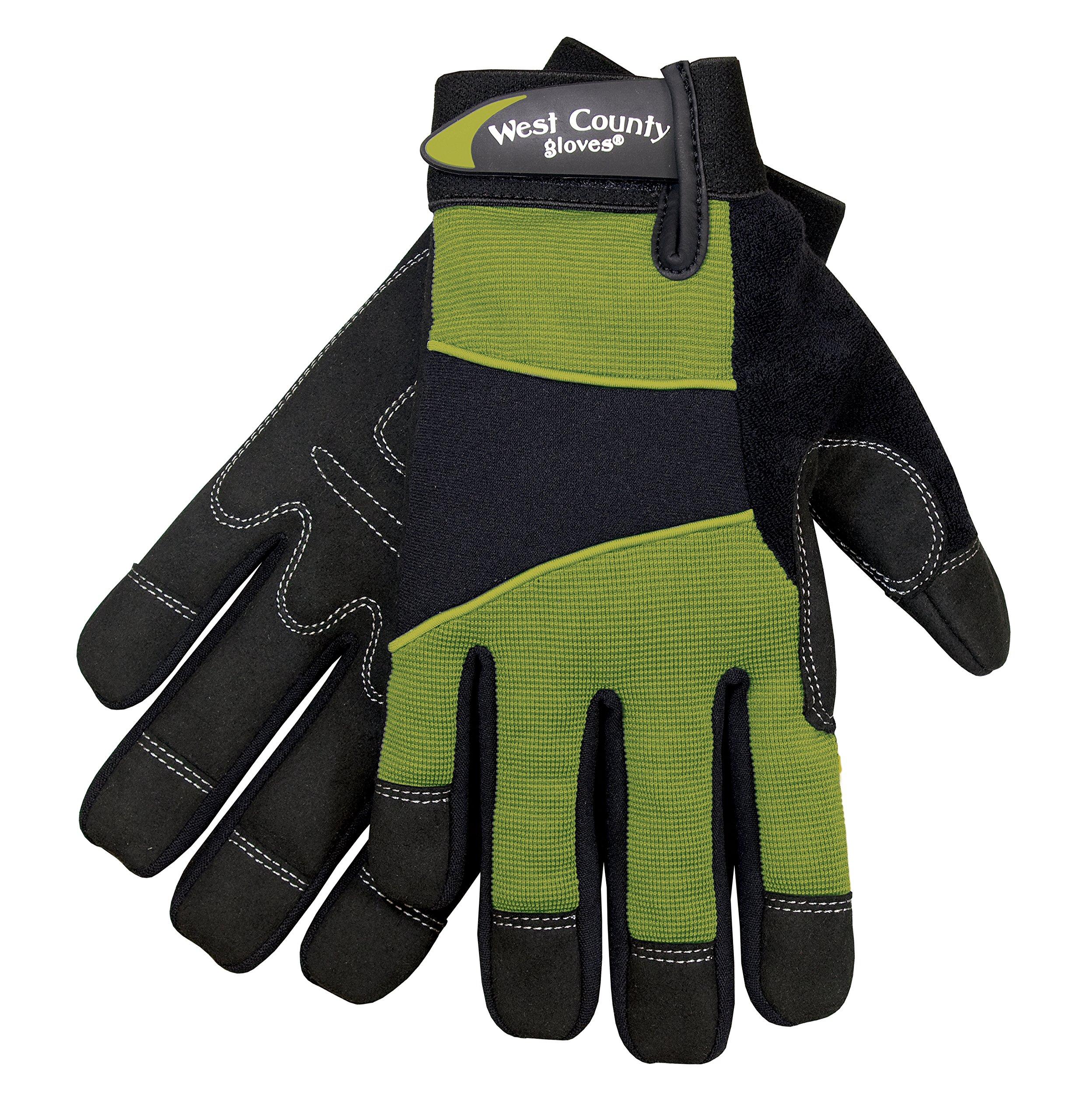 West County Gardener 012S/L Women's Work Glove, Large, Stem