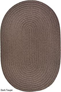 product image for Rhody Rug Madeira Indoor/Outdoor Oval Braided Rug (4' x 6') Taupe
