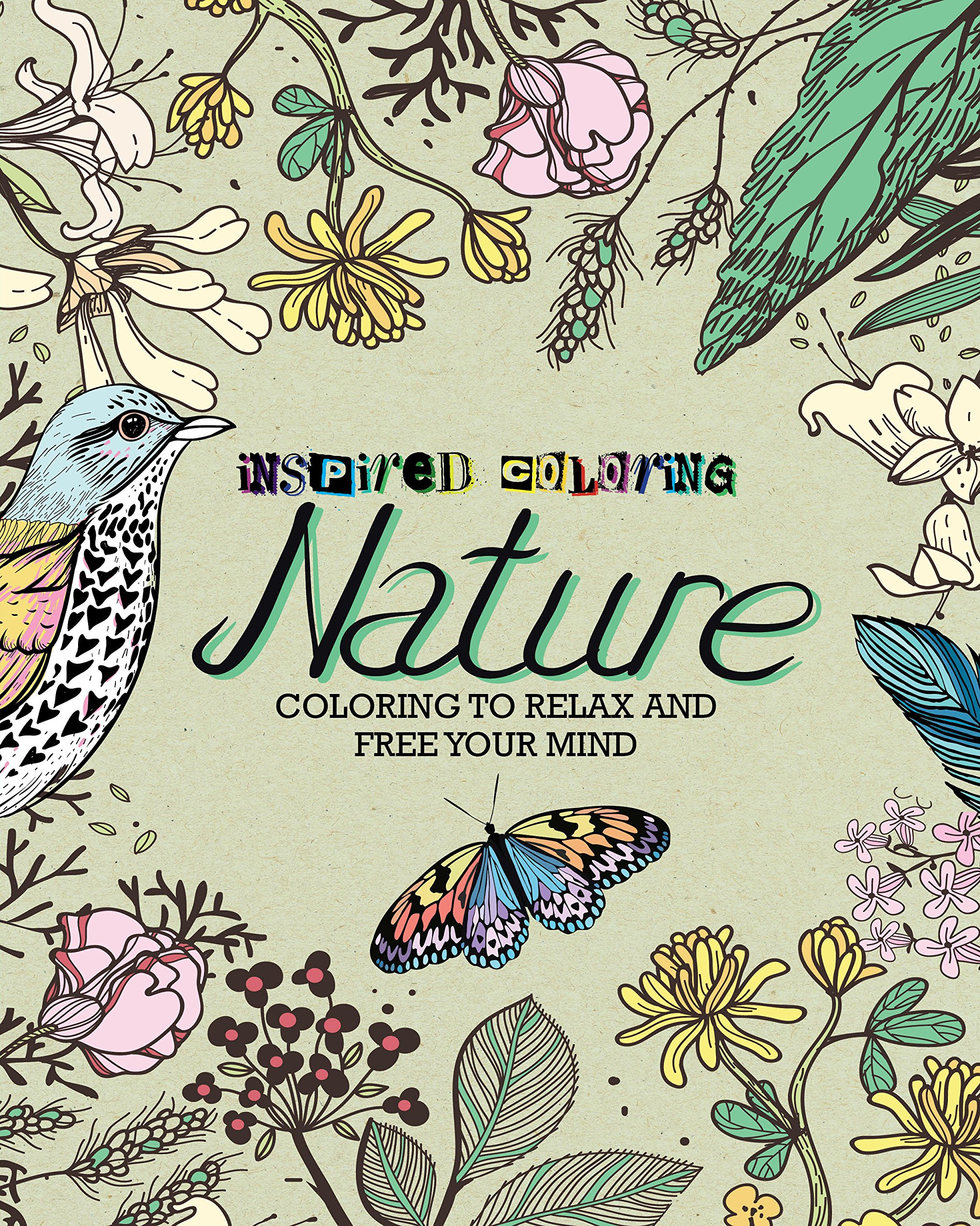 Amazon.com: Nature Inspired Coloring (9781472392633): Parragon Books ...