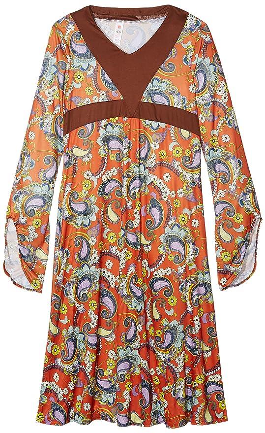 SMIFFYS Smiffy s 43832X1 - Vestito lungo per travestimento stile Woodstock  anni   ... cfb1bff8893