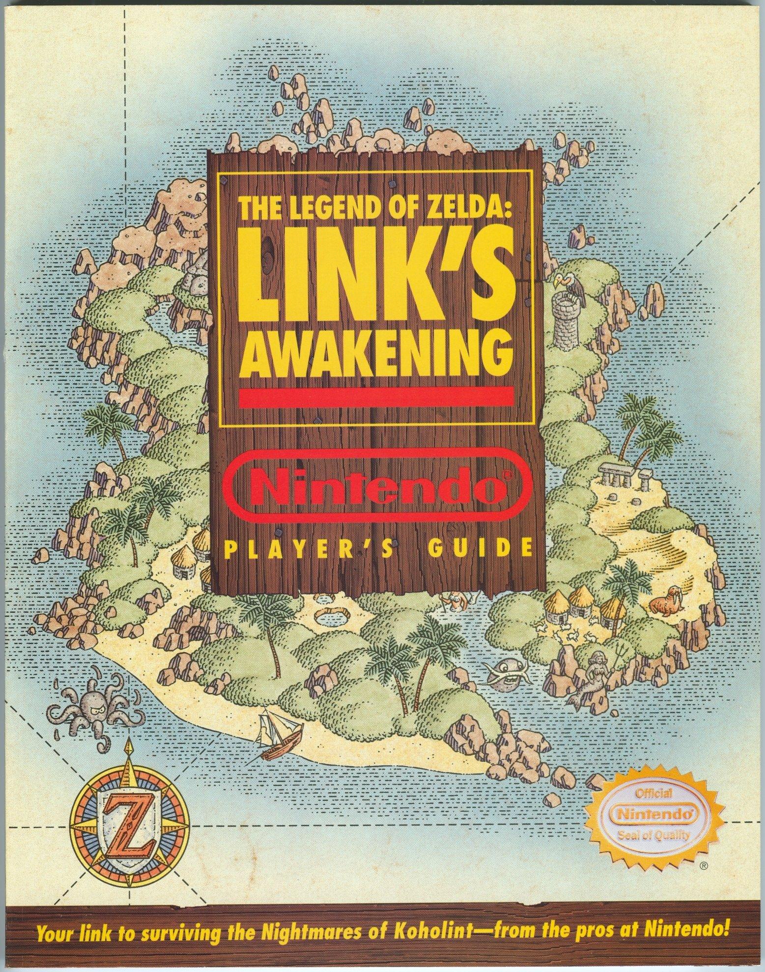 The Legend Of Zelda Link S Awakening Nintendo Player S