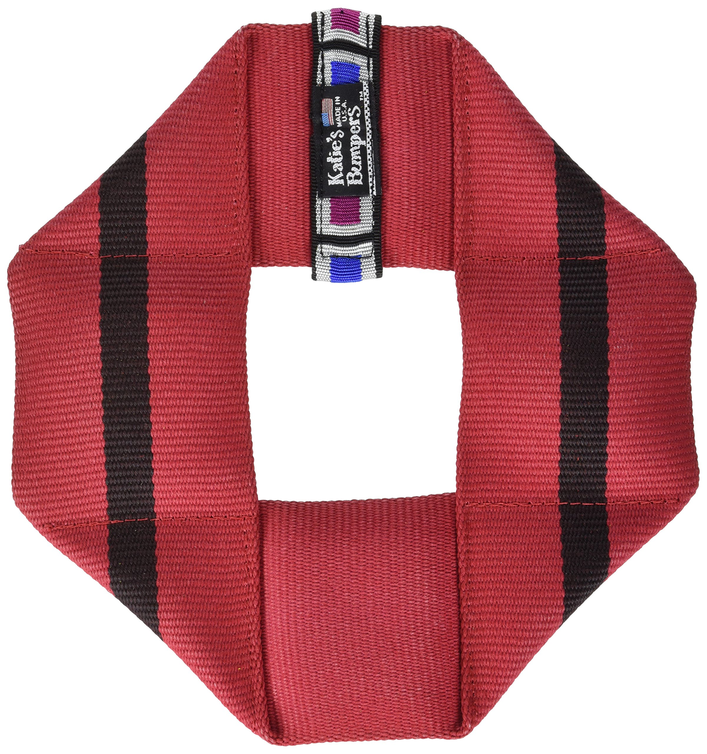 Katie's Bumpers Frequent Flyer Square Firehouse Dog Toy, Assorted