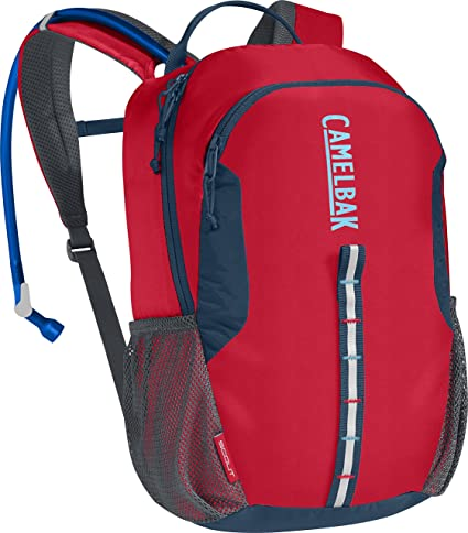 b8d1a36b60e Amazon.com   CamelBak Scout 50 oz Hydration Pack, Crimson Red Blue ...