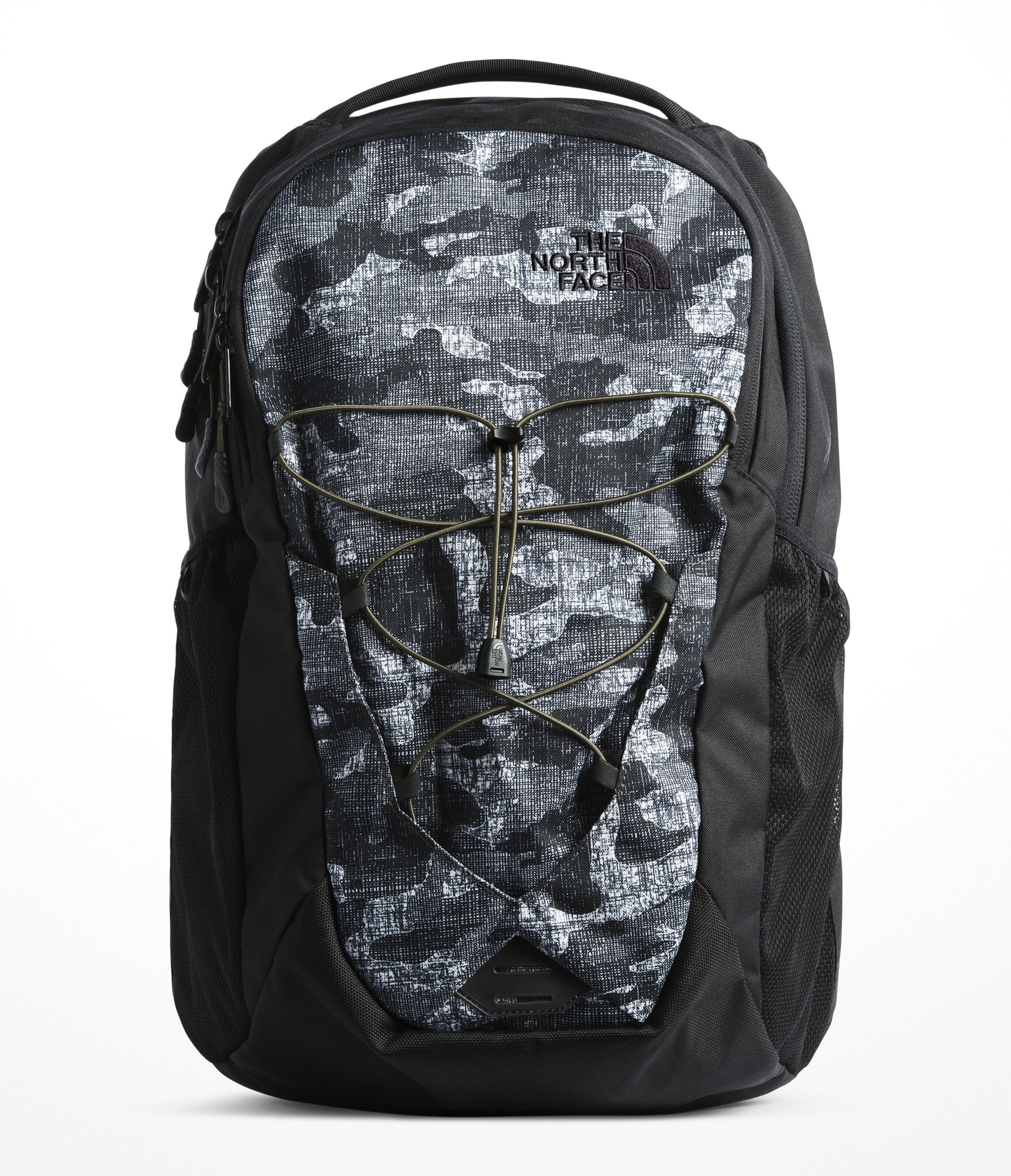 The North Face Jester Backpack, TNF Black Textured Camo Print/TNF Black by The North Face