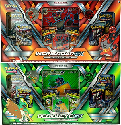 Pokemon Decidueye GX Premium Collection Box NEW inc 6 Booster Packs Promo
