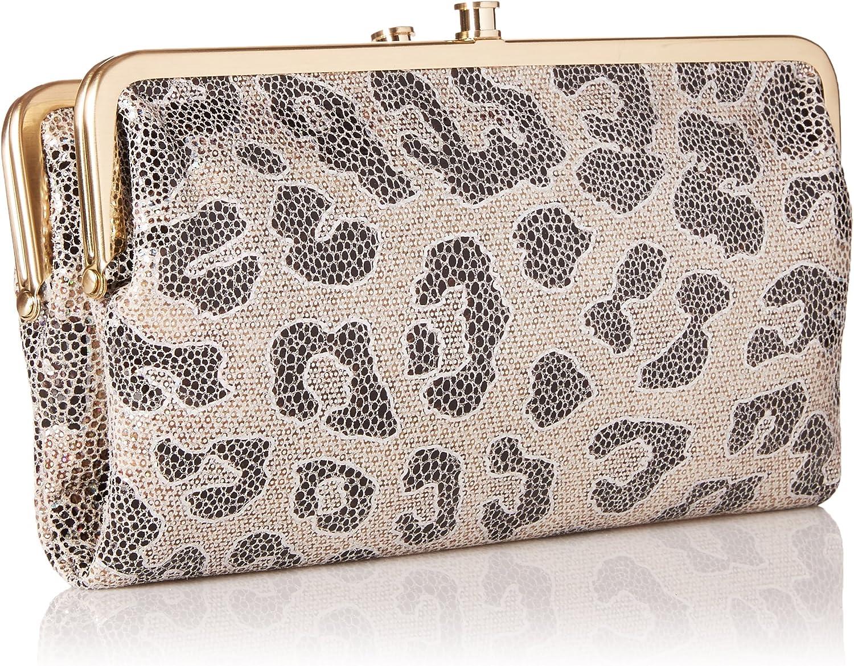 One Size Cheetah Shimmer HOBO Vintage Lauren Wallet