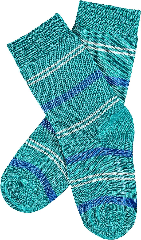 1 Paar Farben Hautfreundlicher Ringelstrumpf f/ür M/ädchen und Jungen Gr/ö/ße 19-42 FALKE Kinder Socken Pencil Stripe 82/% Baumwolle Versch