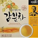 [HEALTH TEA] Korea Food Persimmon Leaf Tea 1.0g X 40 Tea Bags 감잎차 감잎