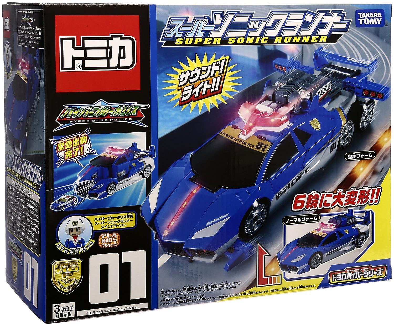Tomica Hyper Blue Police - Super Sonic Runner [Toy] (japan import)