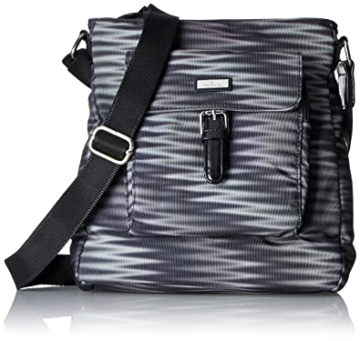 Acc Rina Flash, Womens Cross-Body Bag, Schwarz, 7x27.5x25 cm (wxhxd) Tom Tailor