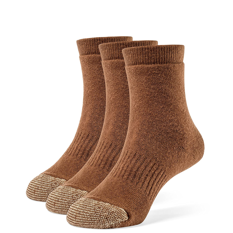 Galiva Girls' Cotton Extra Soft Quarter Cushion Socks - 3 Pairs GL317