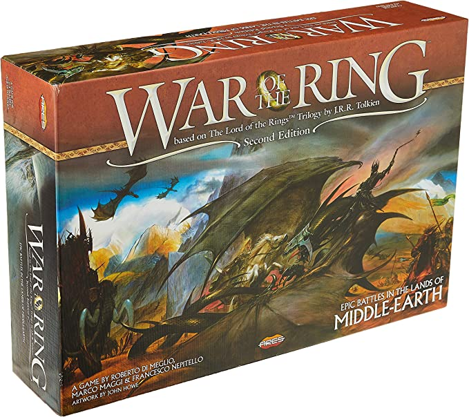 Lord Of The Rings War of the Ring 2nd Edition Game Play Learn fun Hobby Family