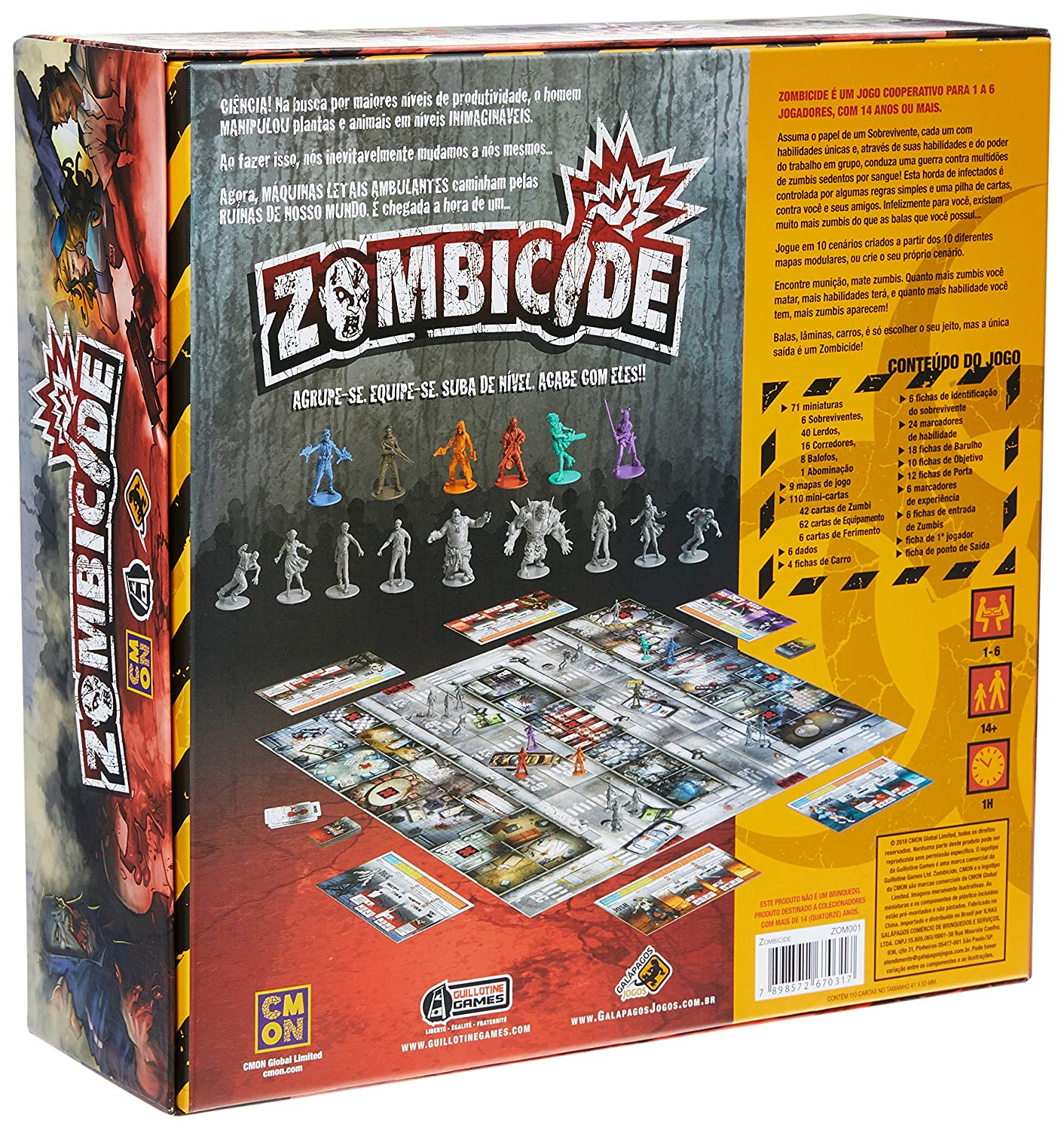 Amazon.com: ZOMBICIDE: Toys & Games