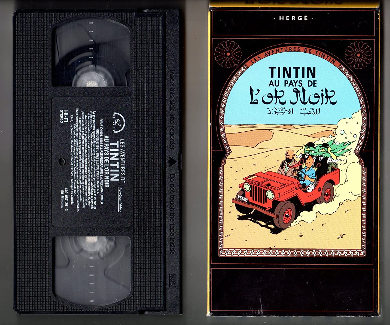 Amazon.com: Les Aventures de Tintin [VHS]: Colin OMeara ...