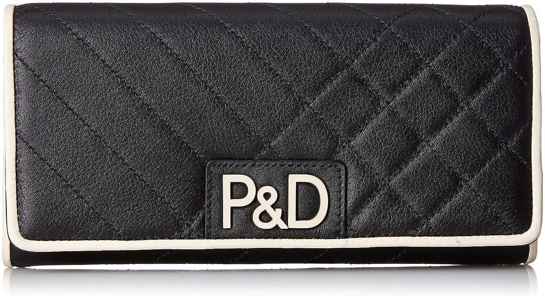 [ピンキーアンドダイアン] 長財布 《シャレード》 PDLW7JT2 B075721DV1  ブラック