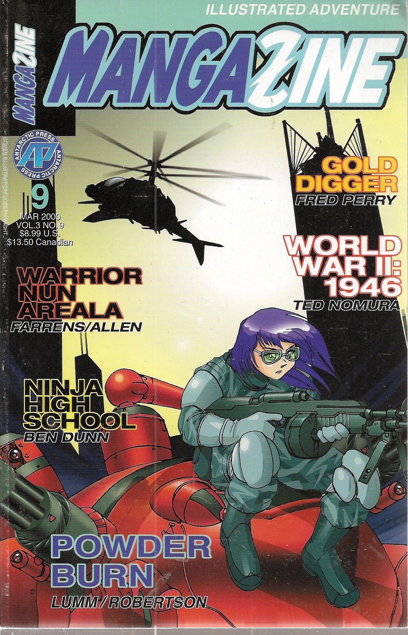 Mangazine #9 (Gold Digger, Ninja High School, World War II ...
