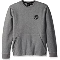 A|X Armani Exchange Men's Urban Pull Over with Crew Neck
