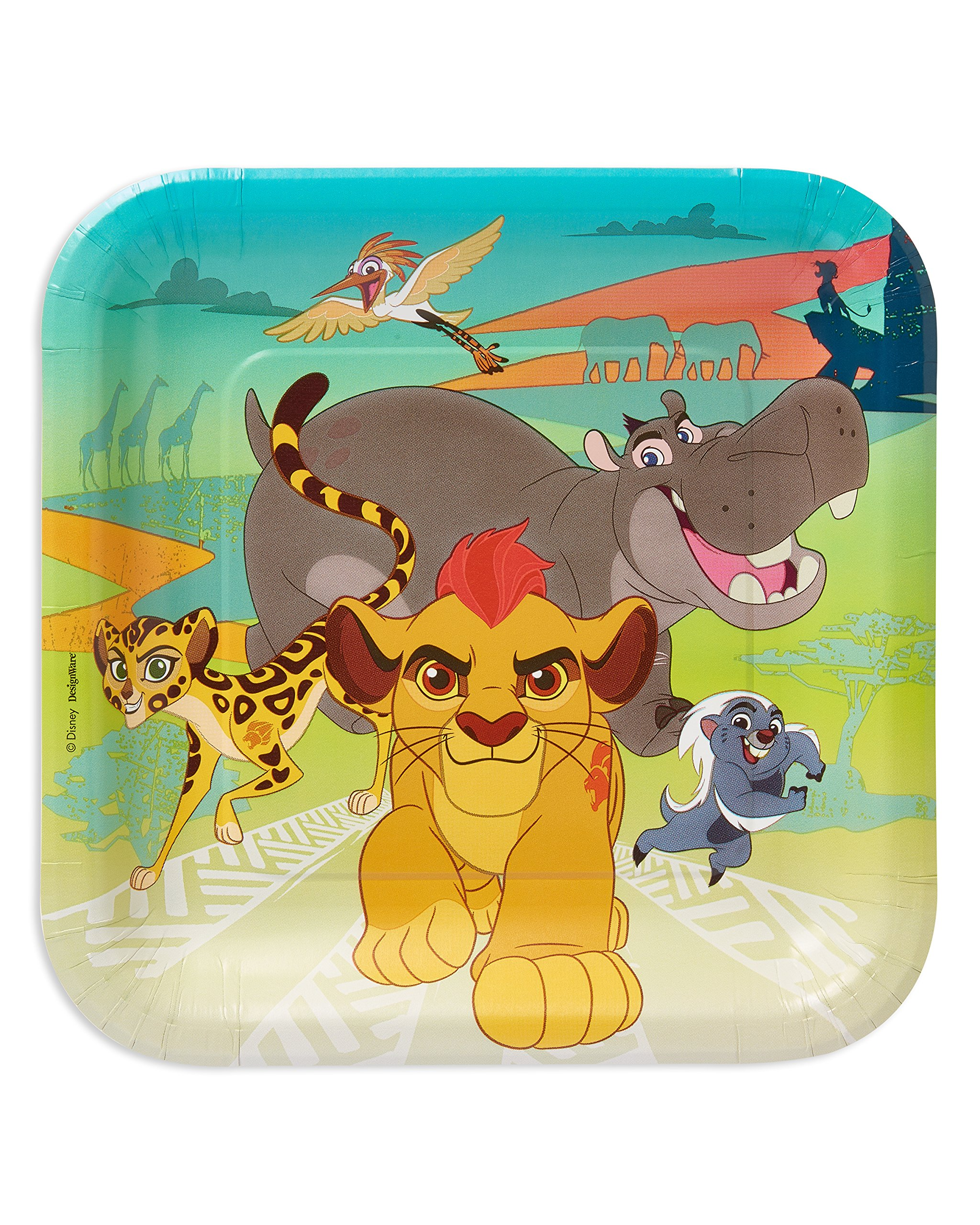 American Greetings Lion Guard Paper Dinner Plates, 8-Count by American Greetings
