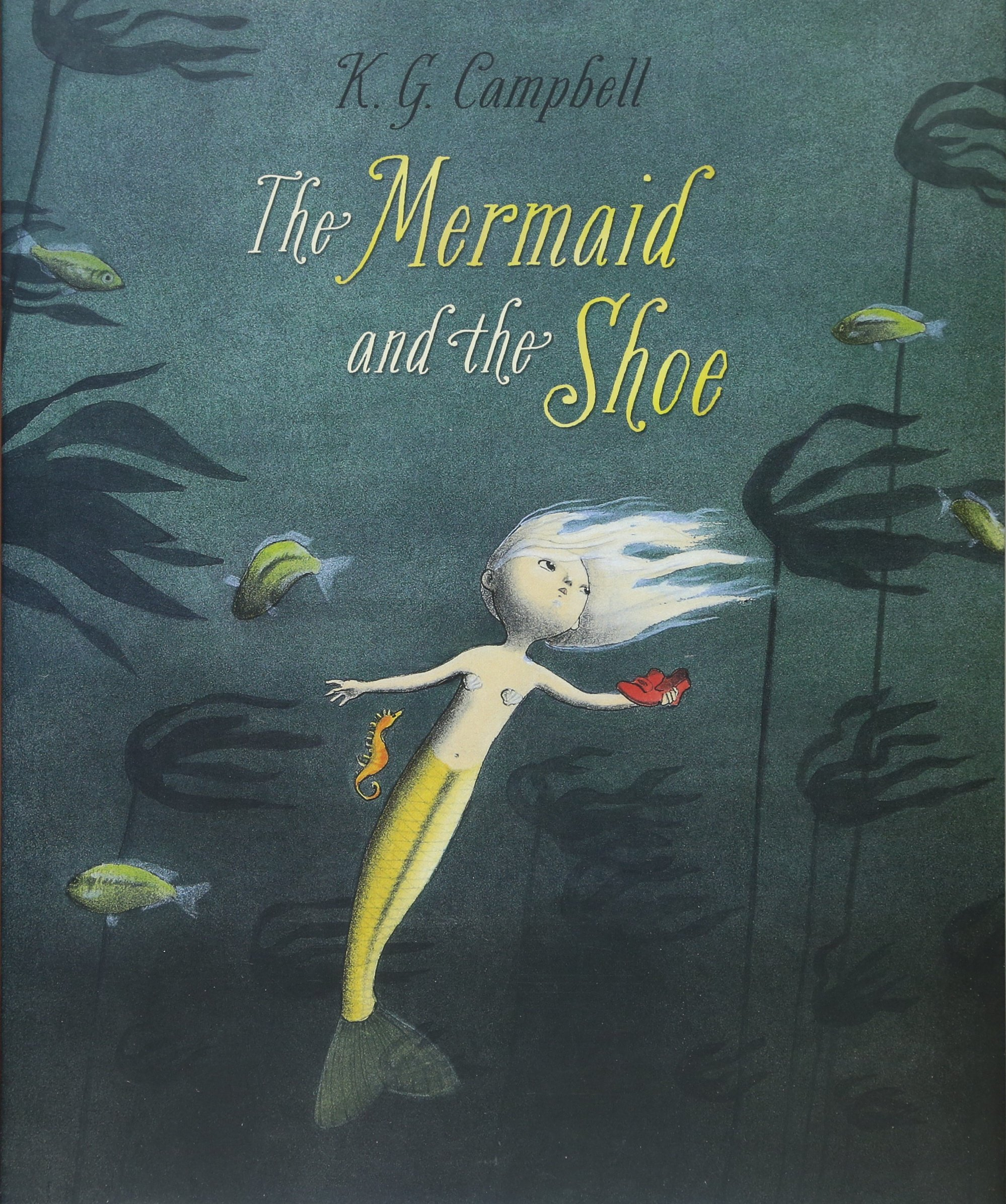The Mermaid And The Shoe K G Campbell 9781554537716 Books