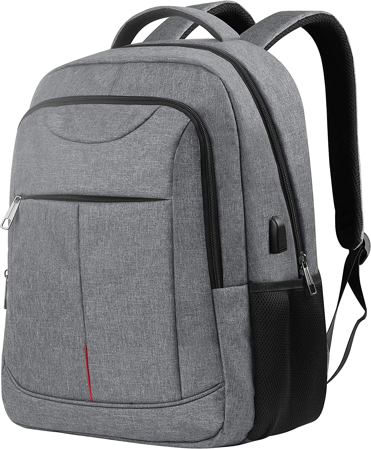 Tech Laptop Backpack for Men,Travel Business Durable Laptop Backpacks with USB Charging Port