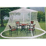 Mosquito Netting For 9 ft Market Umbrella -