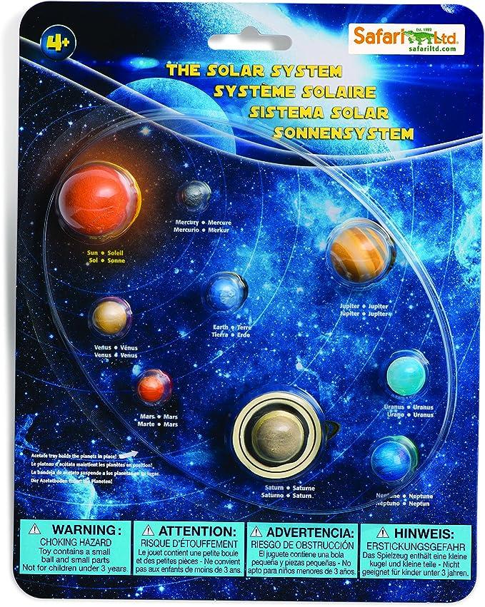 Safari 663616 Juego Educativo del Sistema Solar: Amazon.es ...