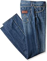 Wrangler Men's Tall Retro Tall Relaxed Fit Boot Cut Jean