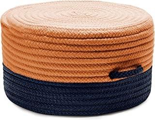 product image for Color Block Pouf FR31 Ottoman