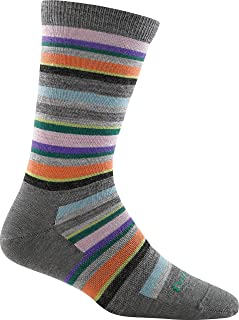 product image for Darn Tough Sassy Stripe Crew Light Socks - Women's