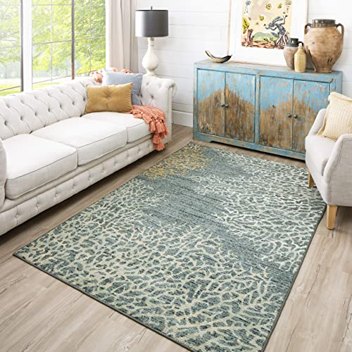 Mohawk Home Coral Reef Coastal Area Rug