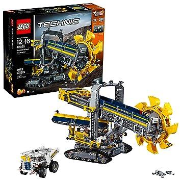Lego Technic 42055 Schaufelradbagger Bauspielzeug Amazonde