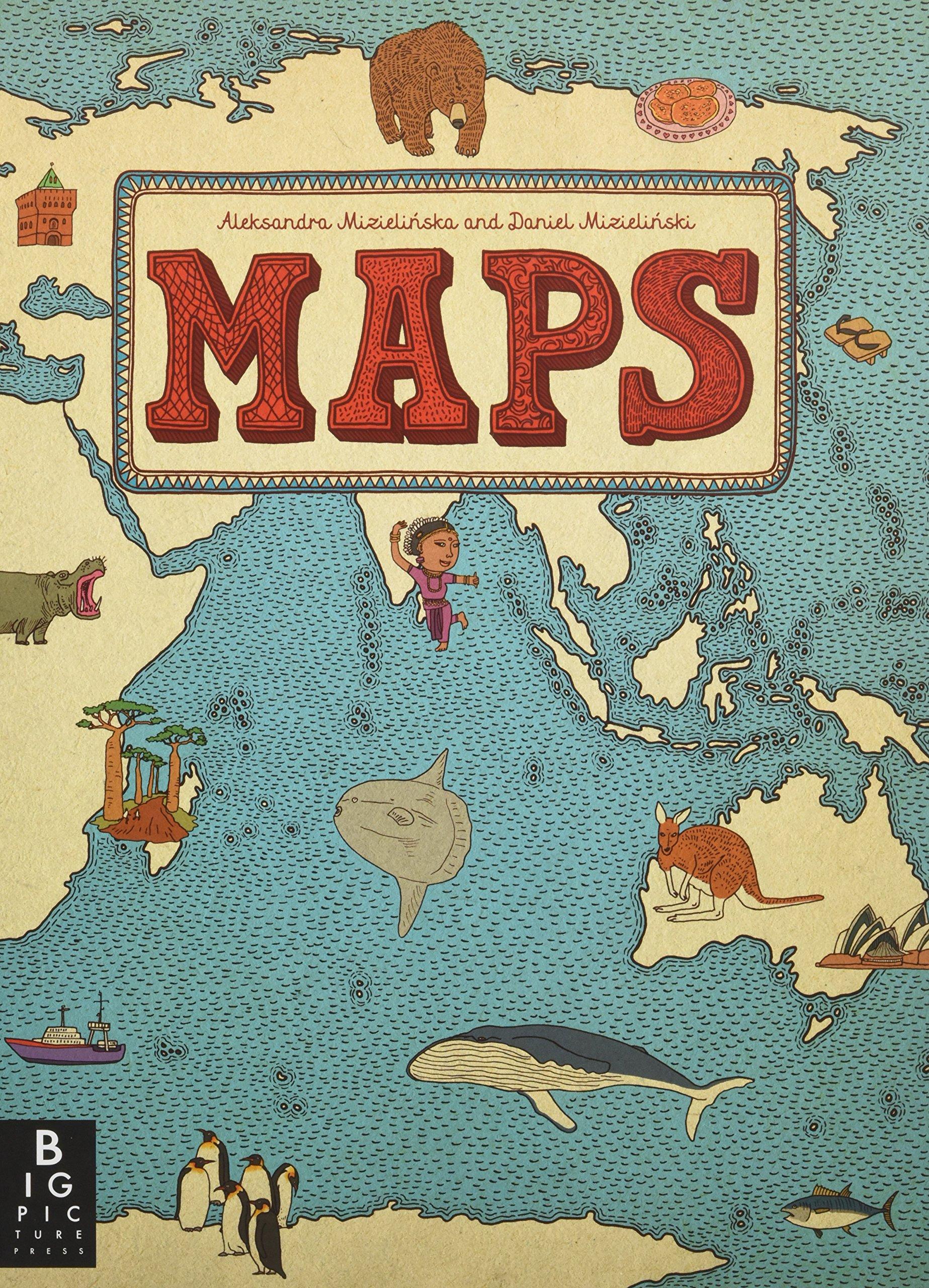 Maps aleksandra mizielinska daniel mizielinski 8601400375570 maps aleksandra mizielinska daniel mizielinski 8601400375570 amazon books gumiabroncs Choice Image