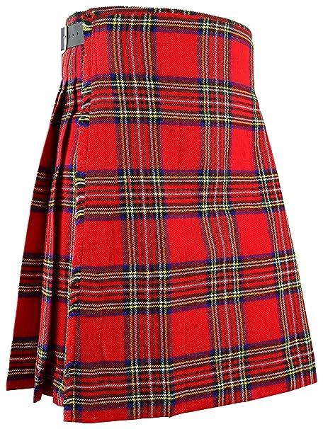 Hamilton Kilts Tradicional de Escocia Mens Kilt Royal Stewart Tartan   Amazon.es  Ropa y accesorios 50f6218f8f26