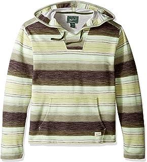 bd24740c7722 Amazon.com  Pendleton Men s Serape Stripe Popover Hoody  Clothing