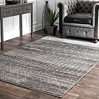 nuLOOM Moroccan Blythe 5' x 7' Area Rug (Dark Grey)