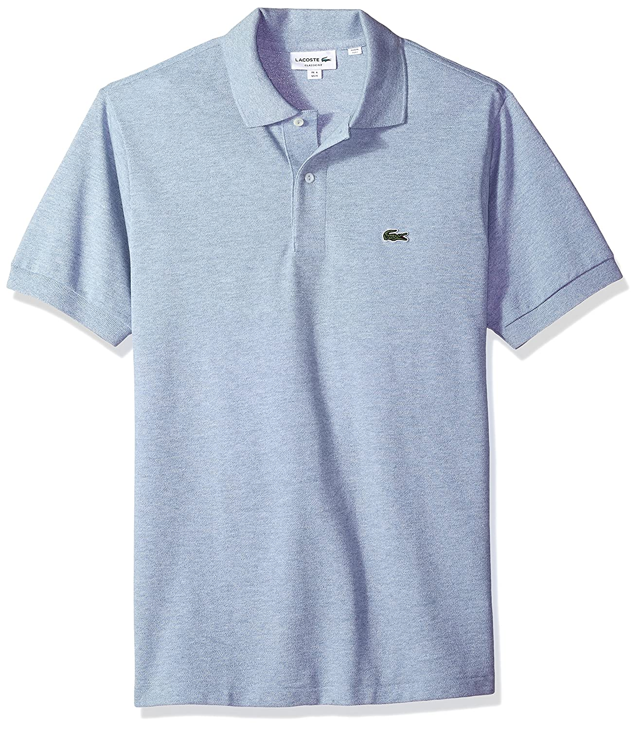 L1264 Lacoste Mens Short Sleeve Pique Classic Fit Chine Polo Shirt