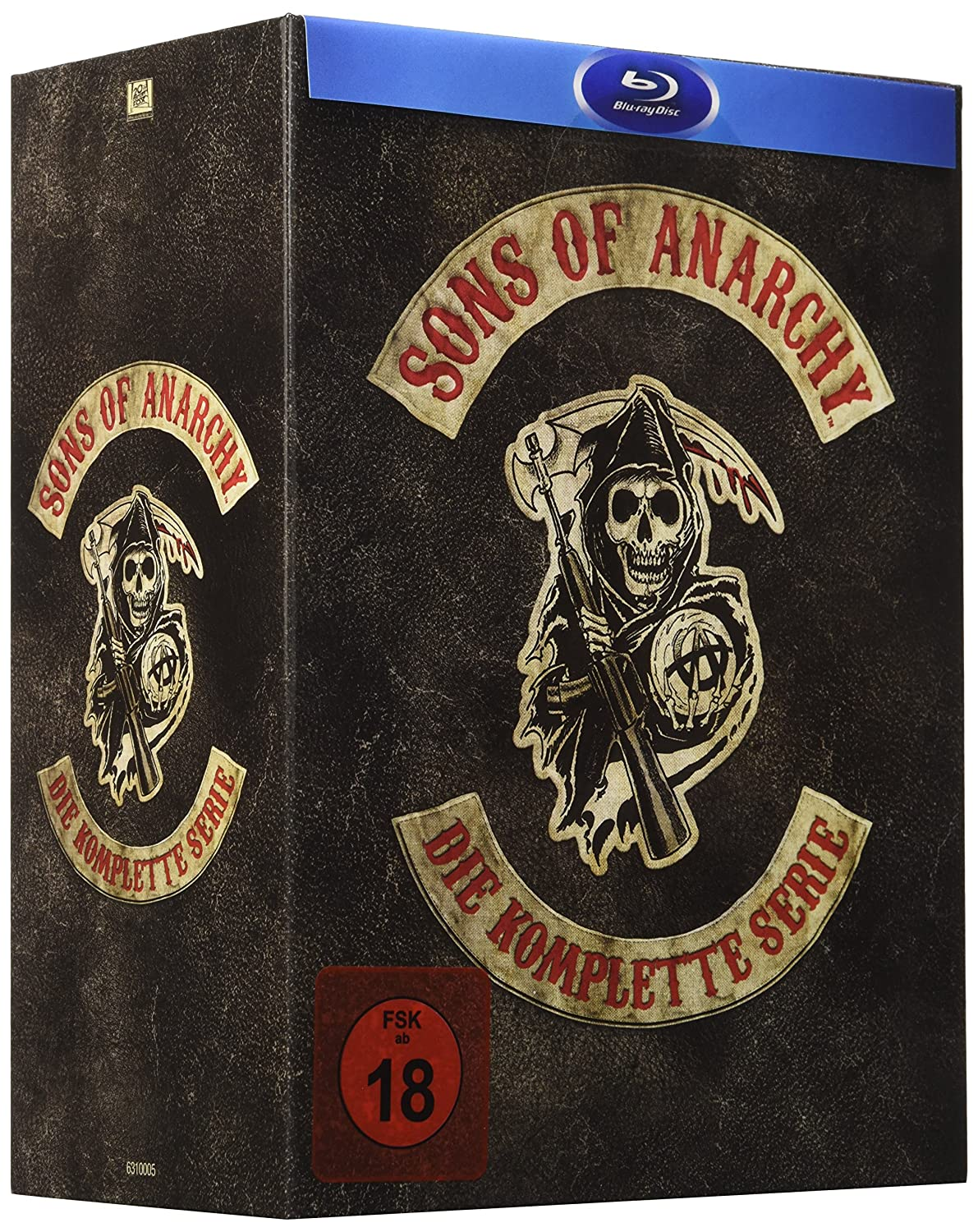 Sons of Anarchy - Complete Box [Alemania] [Blu-ray]: Amazon ...