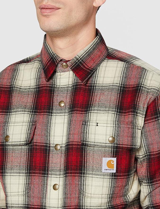Carhartt Mens Hubbard Sherpa Lined Shirt Jacket Regular and Big /& Tall Sizes