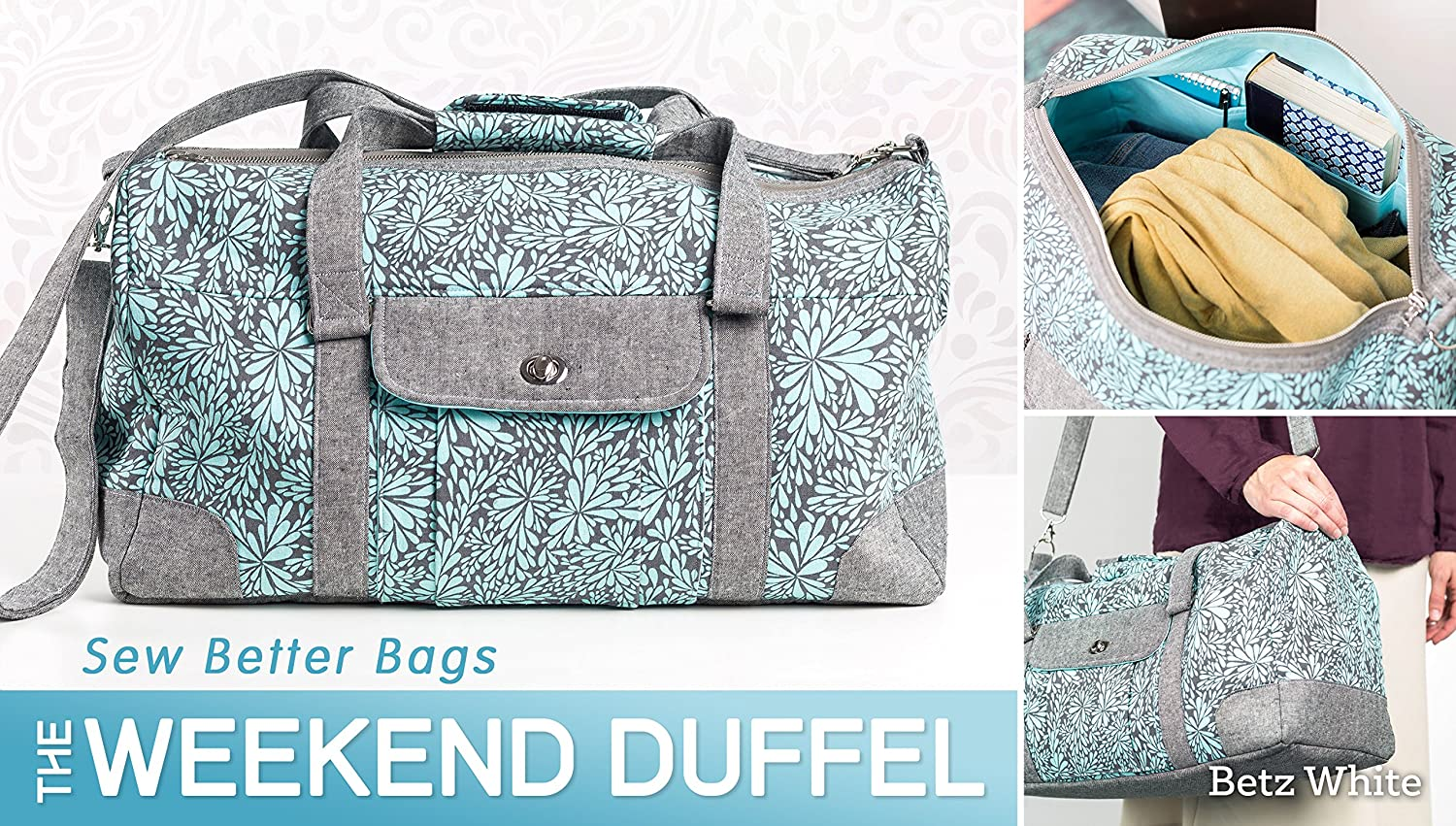 Amazon sew better bags the weekend duffel betz white amazon sew better bags the weekend duffel betz white skilled craftsmanship and a focus on earth friendly materials she is a graduate in fashion jeuxipadfo Gallery