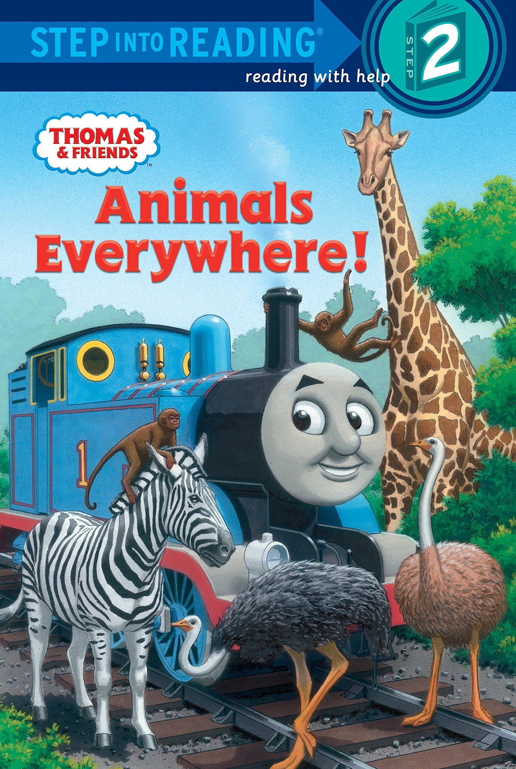 amazon animals everywhere thomas friends step into reading