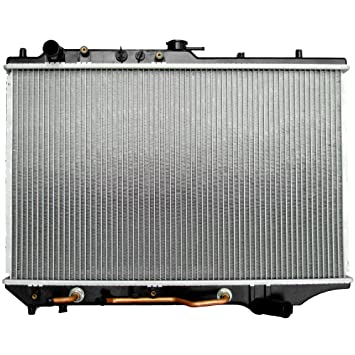 Scitoo 1135 Nueva Aluminio radiador se Adapta para Mazda Protege Mazda 323 1 en Grosor