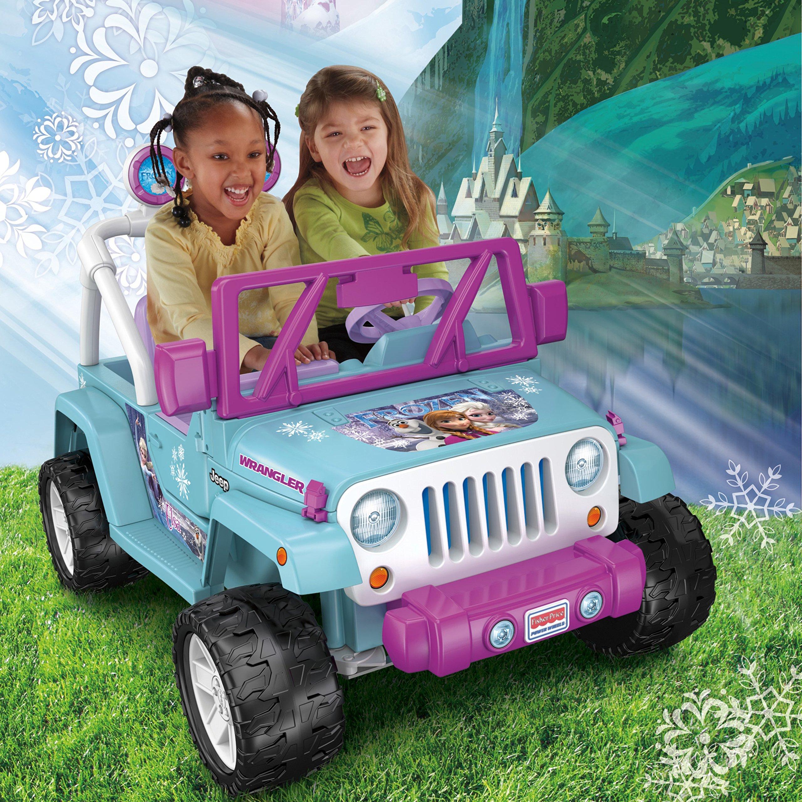 Power Wheels Disney Frozen Jeep Wrangler by Fisher-Price (Image #6)