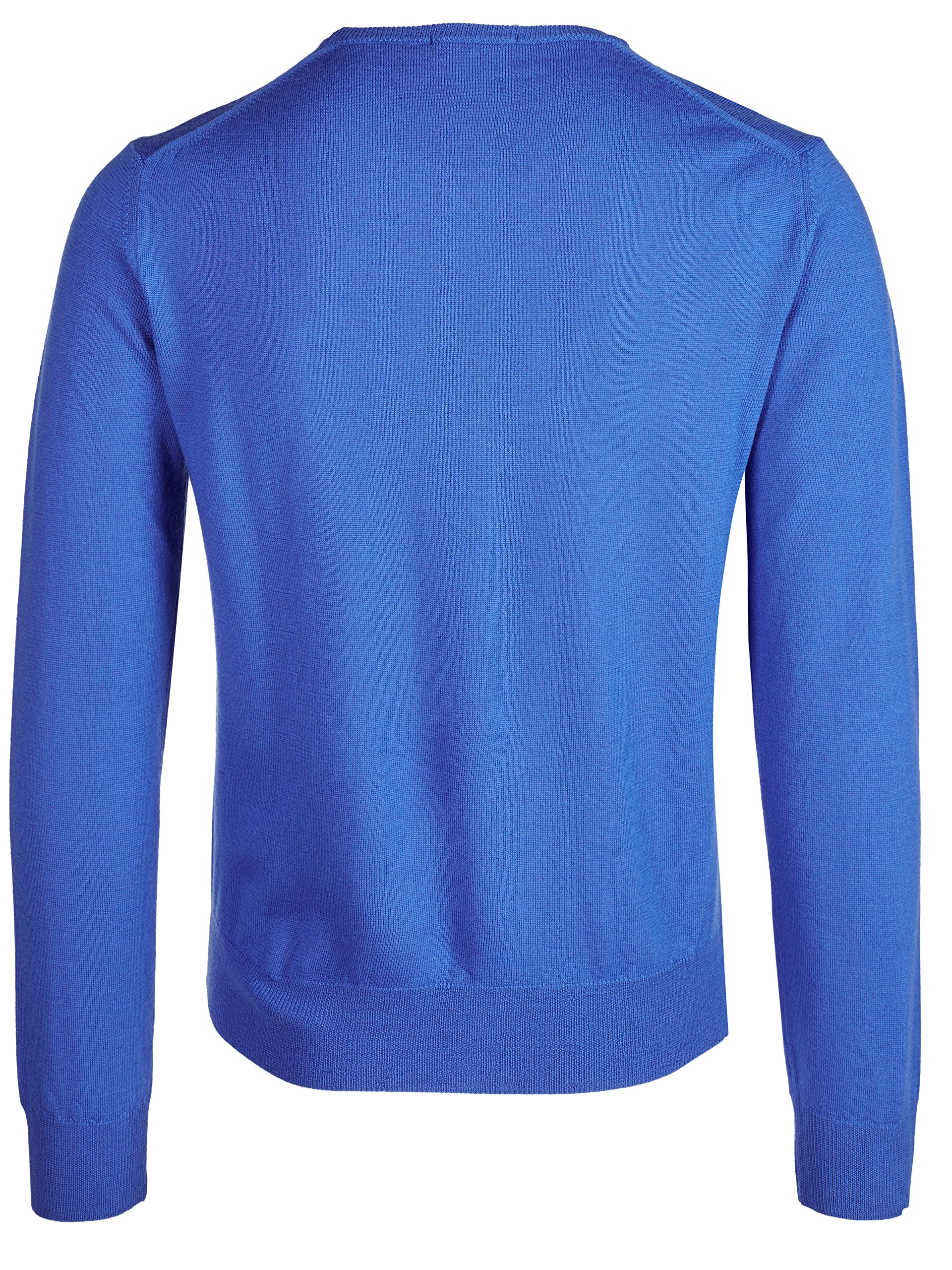 Versace Collection Medium Blue V-neck Wool Sweater (S) by Versace (Image #2)